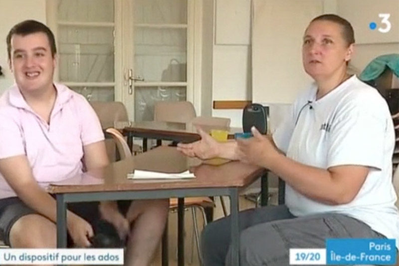 Reportage de France 3 sur les Enfantastics